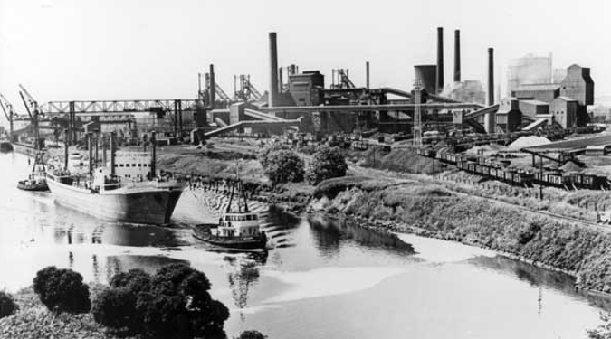 Irlam Steel Works - Salford Local History Library