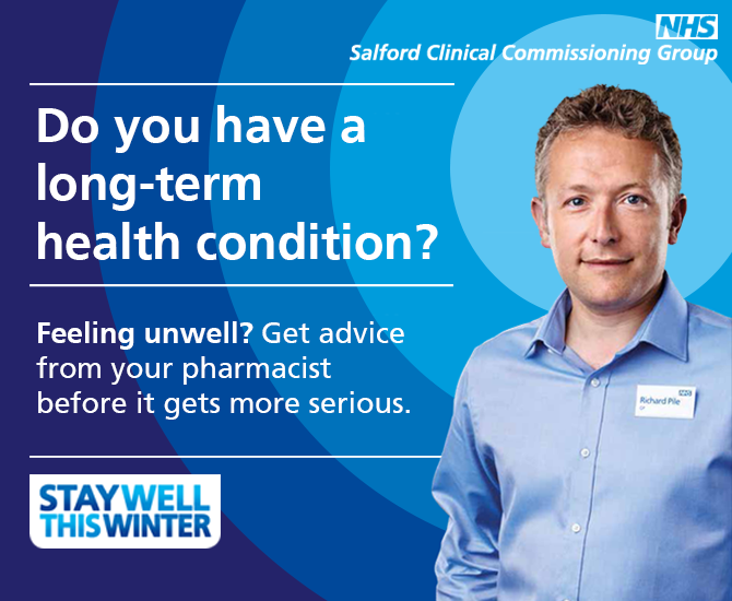 NHS Salford sidebar ad