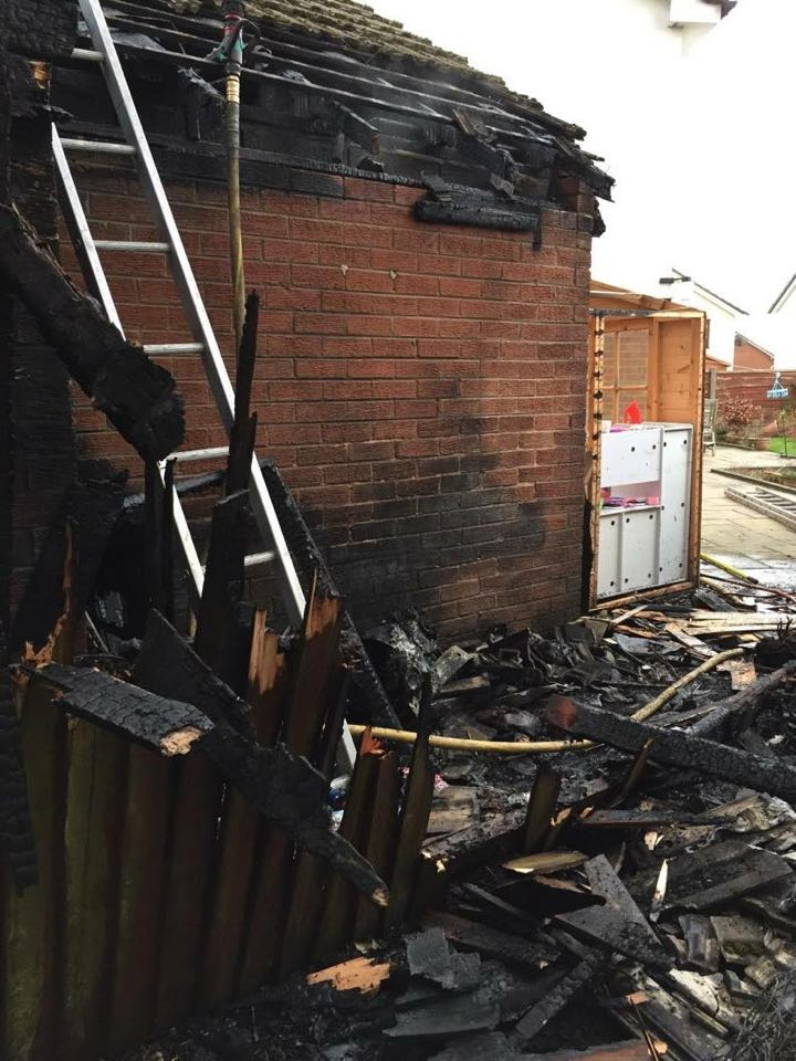 Walkden Garage Fire 3