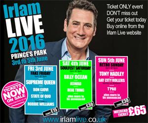 Irlam Live until 10 June