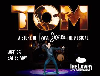 The Lowry Theatre – Tom Jones – till 28 May