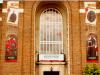 Swinton Town Hall WW1 banner tribute