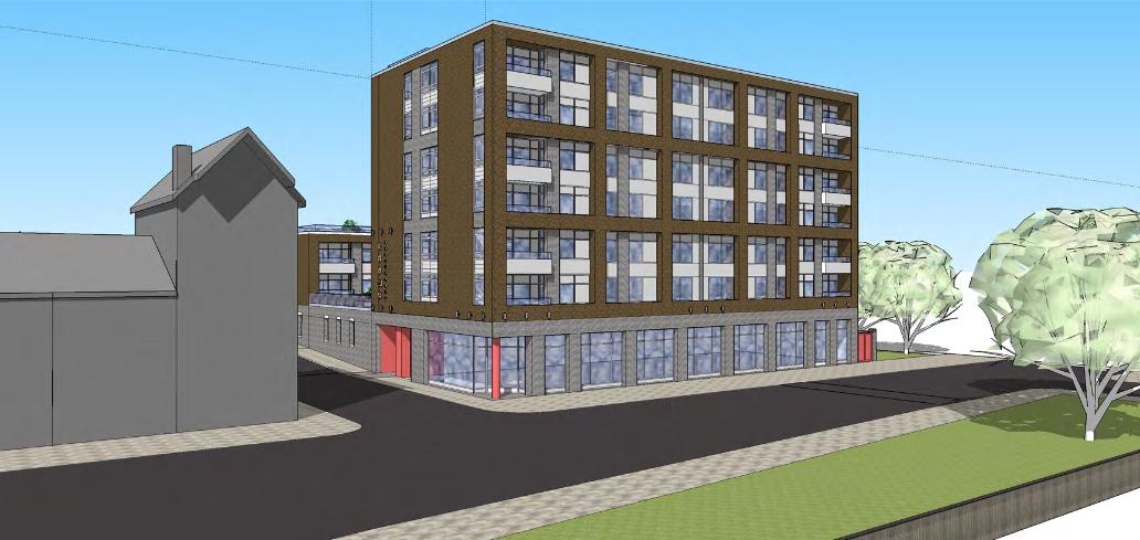 Latest plans for Crown Theatre Eccles: Demolition, less parking ...