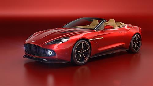 Aston Martin unveils the Vanquish Zagato Volante