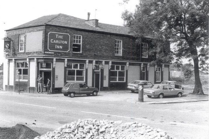 The Carlton Inn in its heyday of the 1970s - © Salford Local History Library