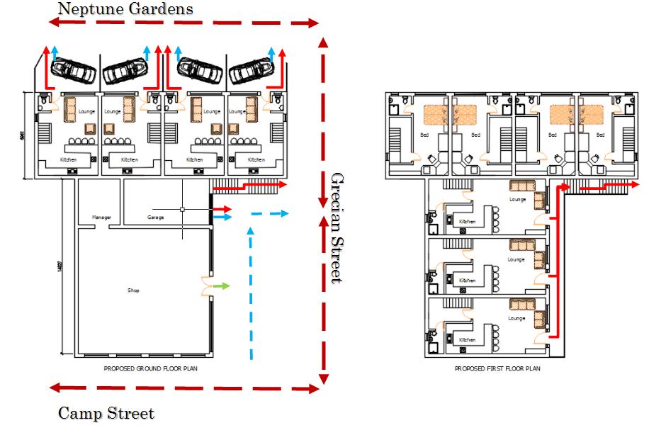 Carlton Inn plans