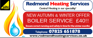Redmond Heating small banner