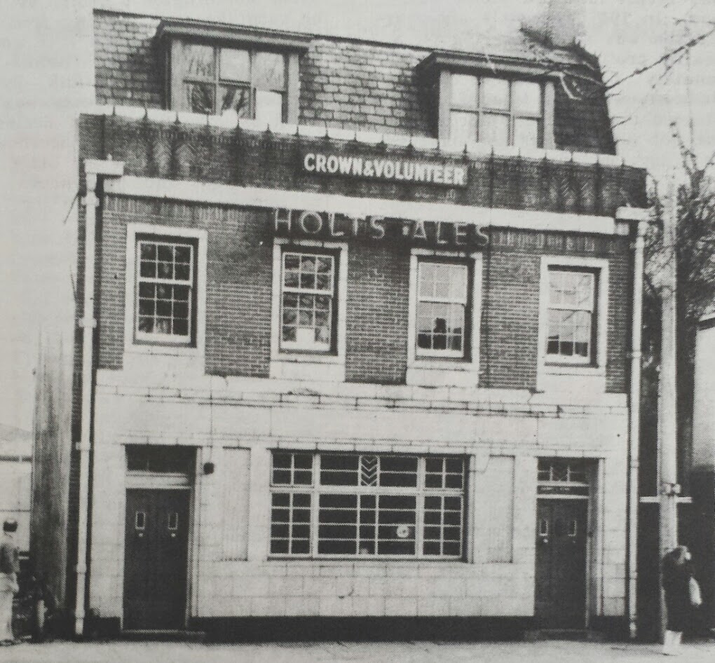 The Crown & Volunteer: now a solicitor's office - Tony Flynn