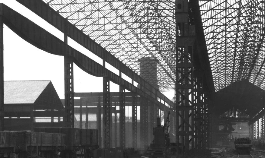 Building the Irlam Steel Works (then Partington Iron & Steel Co.) - Walter Occleston