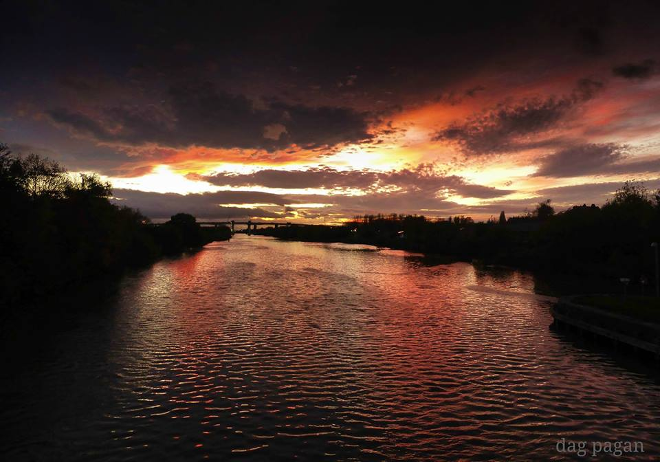 sunset-canal